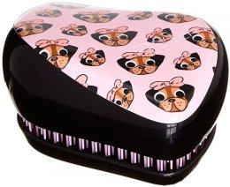 Парфюми, Парфюмерия, козметика Компактна четка за коса - Tangle Teezer Compact Styler Pug Love