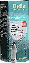 Парфюмерия и Козметика Лифтинг гел за кожата около очите - Delia Lifting Roll-On 3D Hyaluron Gel