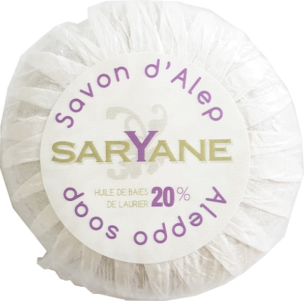Сирийски сапун - Saryane Authentique Savon DAlep 20% — снимка N2