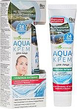"""Парфюмерия и Козметика Aqua-крем за лице с термална вода от Камчатка """"Дълбоко подхранване"""" за суха и чувствителна кожа - Fito Козметик"""