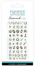 Парфюмерия и Козметика Декориращи лепенки за нокти, 3713 - Neess Diamondneess