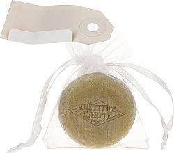 Парфюмерия и Козметика Сапун с масло от ший и аромат на върбинка в торбичка - Institut Karite Lemon Verbena Shea Macaron Soap
