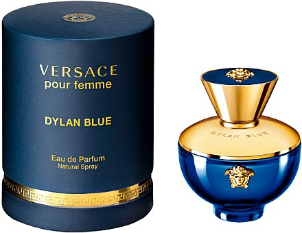 Versace Pour Femme Dylan Blue - Парфюмна вода — снимка N1