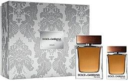 Парфюмерия и Козметика Dolce&Gabbana The One For Men - Комплект тоалетна вода (edt/100ml + edt/30ml)