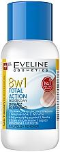 Парфюмерия и Козметика Лакочистител 8в1 - Eveline Cosmetics Nail Therapy Professional