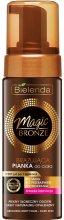 Парфюми, Парфюмерия, козметика Автобронзиращ пяна за тяло, тъмен оттенък - Bielenda Magic Bronze