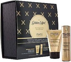 Парфюмерия и Козметика Комплект за лице - Matis Golden Coffret (крем/50ml + околоочен крем/15ml)