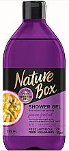 Парфюмерия и Козметика Душ гел - Nature Box Passion Fruit oil Shower Gel