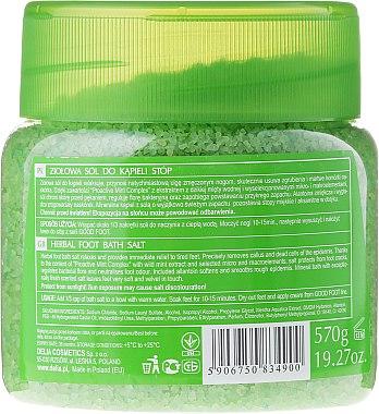 Соли за крака - Delia Cosmetics Good Foot Herbal Foot Bath Salt — снимка N2