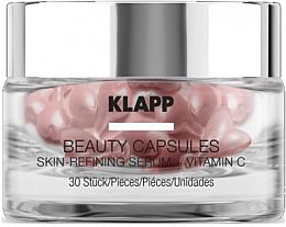 Парфюмерия и Козметика Капсули със серум за лице - Klapp Beauty Capsules Skin-Refining Serum + Vitamin C