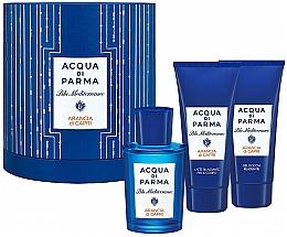 Парфюмерия и Козметика Acqua di Parma Blu Mediterraneo Arancia di Capri - Комплект (edt/75ml + sh/gel/75ml + b/lot/75ml)