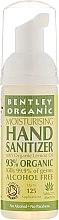 Парфюмерия и Козметика Антибактериална пяна за ръце с органично масло от лимон - Bentley Organic Moisturising Hand Sanitizer