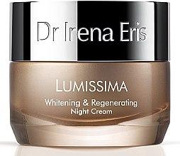 Парфюми, Парфюмерия, козметика Възстановяващ нощен крем за лице - Dr. Irena Eris Lumissima Whitening & Regenerating Night Cream