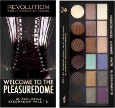 Парфюми, Парфюмерия, козметика Палитра сенки за очи, 18 цвята - Makeup Revolution Salvation Palette Welcome To The Pleasuredome