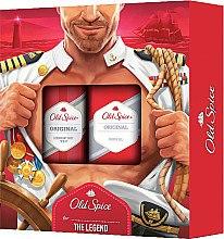 Парфюми, Парфюмерия, козметика Комплект за тяло - Old Spice Original Captain (део спрей/150ml+душ гел/250ml)