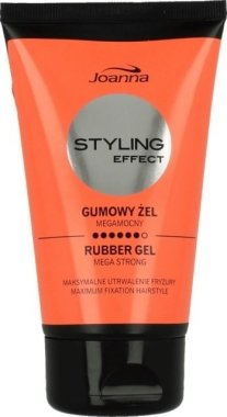 Стилизиращ гел за коса - Joanna Styling Effect Rubber Gel Mega Strong Maximum Fixation Hairstyle
