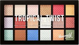 Парфюмерия и Козметика Палитра сенки за очи - Barry M Eyeshadow Palette Tropical Twist