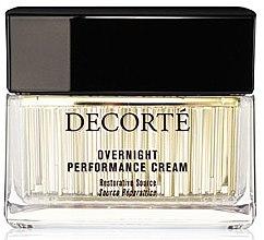 Парфюмерия и Козметика Нощен крем за лице - Cosme Decorte Vi-Fusion Overnight Performance Cream