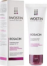Парфюмерия и Козметика Успокояващ дневен крем за лице - Iwostin Rosacin Soothing Day Cream Against Redness SPF 15
