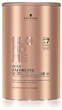 Парфюмерия и Козметика Изсветляваща глина за коса - Schwarzkopf Professional BlondMe Bond Enforcing Clay Lightener 7+