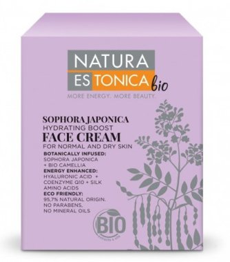 Овлажняващ крем за лице с Японска акация - Natura Estonica Sophora Japonica Face Cream — снимка N2