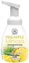 Парфюмерия и Козметика Пенещ се сапун за ръце с аромат на ананас и мимоза - Australian Gold Foaming Hand Soap Pineapple Mimosa