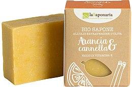 Парфюмерия и Козметика Сапун с екстракт от канела и портокал - La Saponaria Orange & Cinnamon Soap