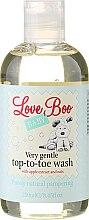 Парфюми, Парфюмерия, козметика Детски душ гел и шампоан 2в1 - Love Boo Baby Very Gentle Top-To-Toe Wash