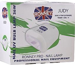 Парфюмерия и Козметика UV лампа за нокти, червена - Ronney Profesional Judy UV 36W (GY-UV-230) Lamp