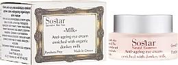 Парфюмерия и Козметика Антистареещ околоочен крем - Sostar Anti-Aging Eye Cream Enriched With Donkey Milk