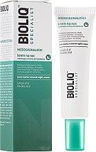 Парфюмерия и Козметика Нощен успокояващ крем против акне - Bioliq Specialist Acne Marks Removal Night Cream