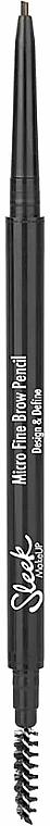 Автоматичен молив за вежди - Sleek MakeUP Micro Fine Eyebrow Pencil — снимка N1