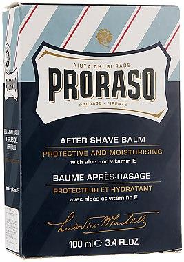 Балсам за след бръснене с алое вера и витамин Е - Proraso Blue Line After Shave Balm — снимка N4