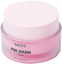 Парфюмерия и Козметика Крем за лице с екстракт от диня, АНА и ВНА киселини - Nacific Pink AHA BHA Cream