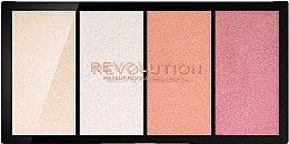 Парфюмерия и Козметика Палитра хайлайтъри - Makeup Revolution Re-Loaded