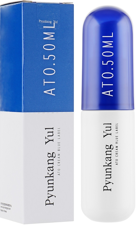 Успокояващ и хидратиращ крем за чувствителна кожа - Pyunkang Yul Ato Cream Blue Label