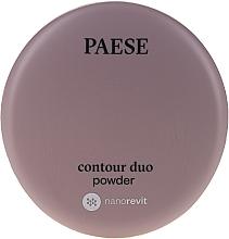 Парфюмерия и Козметика Двойна контурираща пудра за лице - Paese Contour Duo Powder