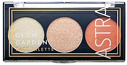 Парфюмерия и Козметика Палитра за грим - Astra Make-Up Glow Garden Face Palette