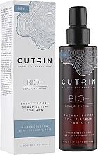 Парфюмерия и Козметика Укрепващ серум за скалп за мъже - Cutrin Bio+ Energy Boost Scalp Serum For Men