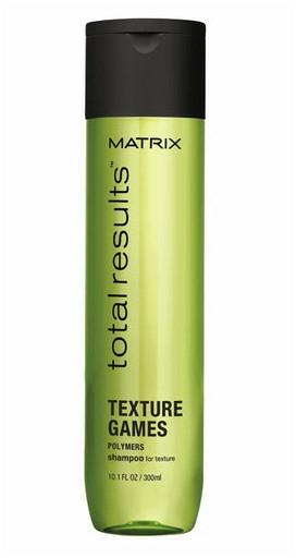 Шампоан за лесно стилизиране и обем на косата - Matrix Total Results Texture Games Shampoo