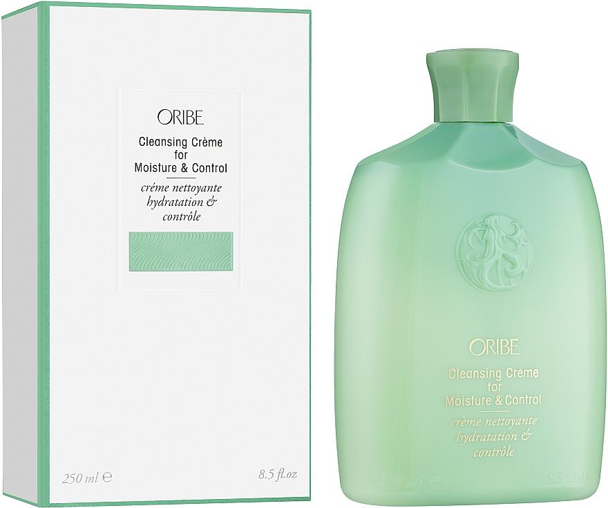 Почистващ крем-балсам за коса - Oribe Moisture & Control Cleansing Creme — снимка N1