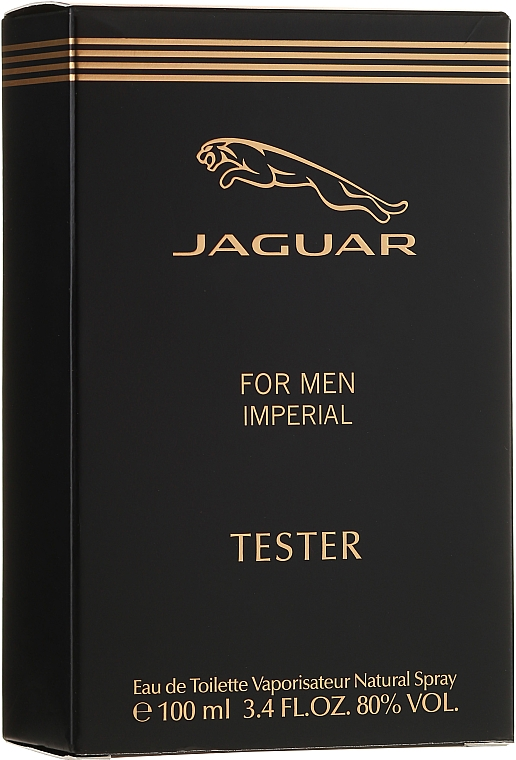 Jaguar Imperial for Men - Тоалетна вода (тестер без капачка)  — снимка N1
