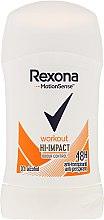 Парфюмерия и Козметика Стик дезодорант - Rexona Motionsense Workout Hi-impact 48h Anti-perspirant