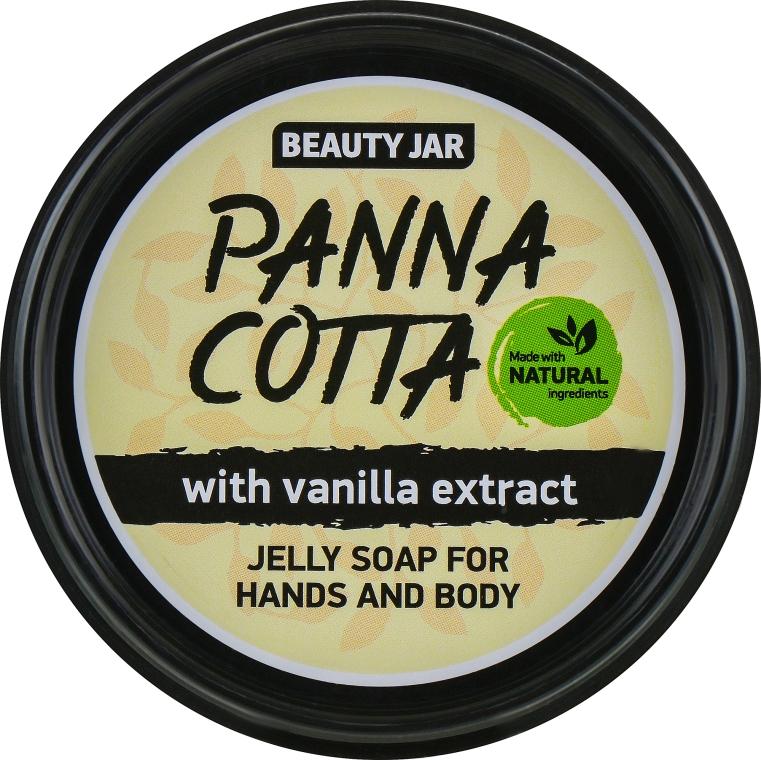 """Желе сапун за ръце и тяло с екстракт от ванилия """"Panna Cotta"""" - Beauty Jar Jelly Soap For Hands And Body — снимка N1"""