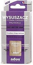 Парфюми, Парфюмерия, козметика Изсушител за цветни нокти - Ados Fast Dry Top Coat