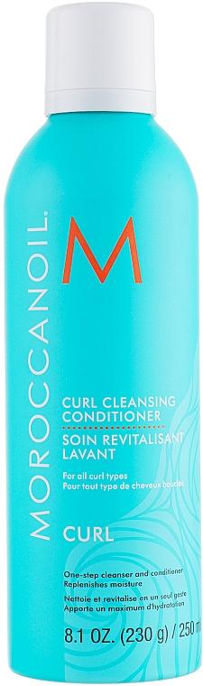 Почистващ балсам за къдрава коса 2 в 1 - Moroccanoil Curl Cleansing Conditioner — снимка N1
