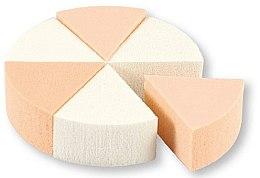 Парфюмерия и Козметика Гъби за грим, 35821, 6 бр - Top Choice Foundation Sponges