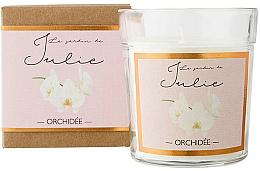 "Парфюмерия и Козметика Ароматна свещ ""Орхидея"" - Ambientair Le Jardin de Julie Orchidee"