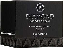 Парфюмерия и Козметика Крем против бръчки за зряла кожа 60+ - Frezyderm Diamond Velvet Anti-Wrinkle Cream For Ripe Skin