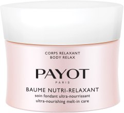 Парфюми, Парфюмерия, козметика Ултраподхранващ балсам за тяло - Payot Corps Relaxant Baume Nutri-Relaxant